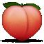 :peach: